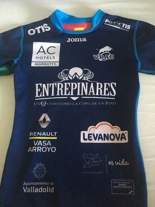 Camiseta y pantalón rugby