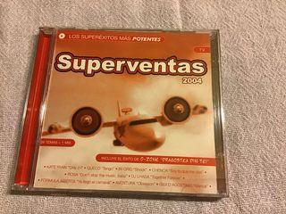 SUPERVENTAS MAS POTENTES, DOBLE CD