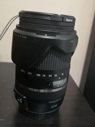 Objetivo Tamron 16-300 mm. f/3.5-6.3 para Canon