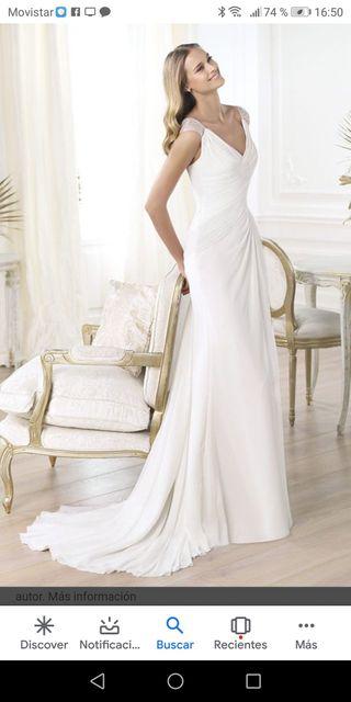 ac710b7a48 Vestido de novia. 549 €. Vestido de novia. Precioso vestido de novia modelo  LALI de Pronovias ...