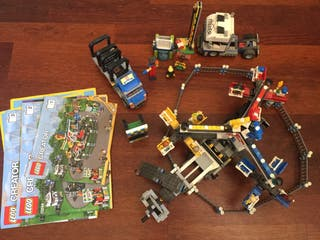 Lego City: noria y juegos. Brilla de noche