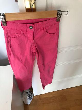 Pantalón largo fucsia