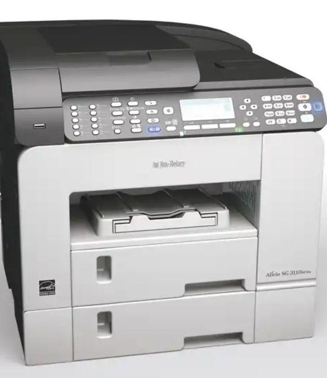 Impresora gel Ricoh SG 3110SFNw