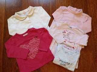Conjunto de camisetas de bebe