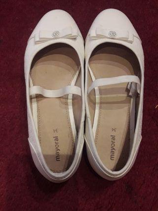 zapato para comunión