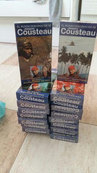 coleccion vhs cousteau