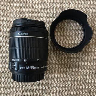 Objetivo Canon prácticamente nuevo