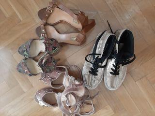 lote de zapatos num 40 y 41