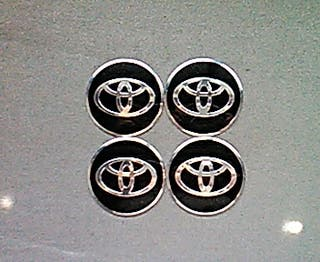 Pegatinas tapabujes centro de rueda Toyota N-P 56