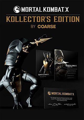 Mortal Kombat X edicion coleccionista Coarse PS4