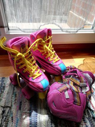 """patines de """"soy luna"""""""
