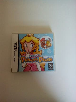 juego nintendo ds Super Princess Peach