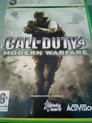 Call of duty 4 Modern Warfare xbox 360 cod