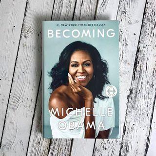 Libro Michelle Obama (ingles)