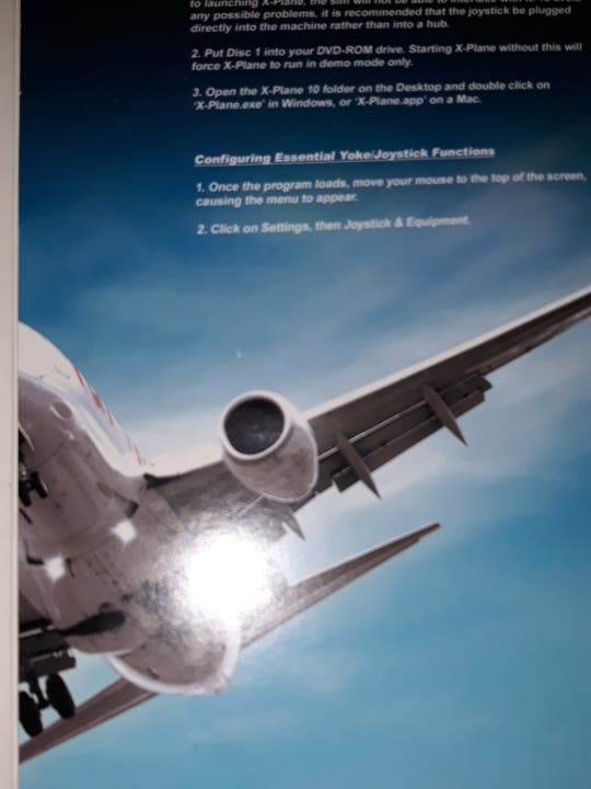 X plane 10 de segunda mano por 25 € en Barcelona en WALLAPOP