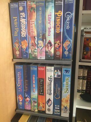 Colección Walt Disney vhs
