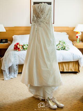 892ec4887 Vestido de novia largos de segunda mano en Madrid en WALLAPOP