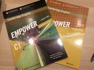Inglés C1 Cambridge student's book y workbook