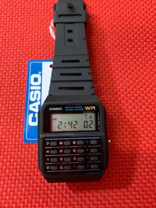 Reloj Casio calculadora (Nuevo) CA-53