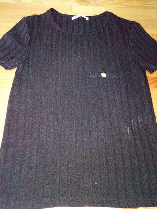 03f08cbdb Camisetas Zara mujer de segunda mano en WALLAPOP