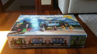 Tren playmobil eléctrico