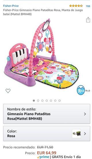 Manta juegos bebés
