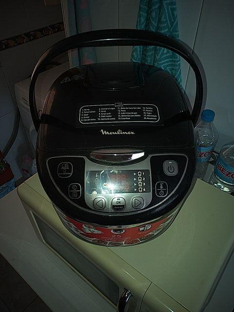 robot de cocina Moulinex 25 programas