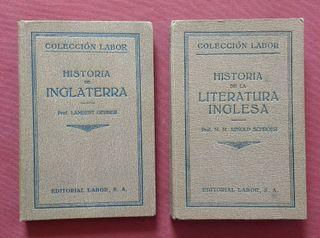 Historia y literatura inglesa