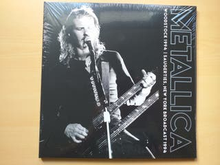 METALLICA - WOODSTOCK 1994 SAUGERTIES NEW YORK LP2