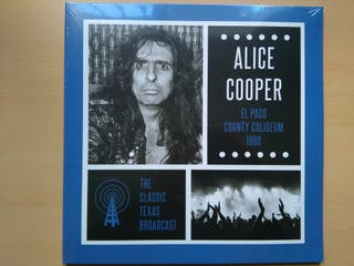 ALICE COOPER - EL PASO COUNTY COLISEUM 1980 (LP2)