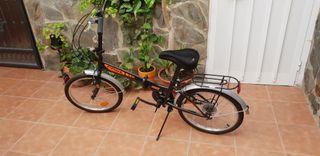 vendo bicicleta plegable
