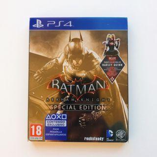 Batman Arkham Knight Ps4 Steelbook