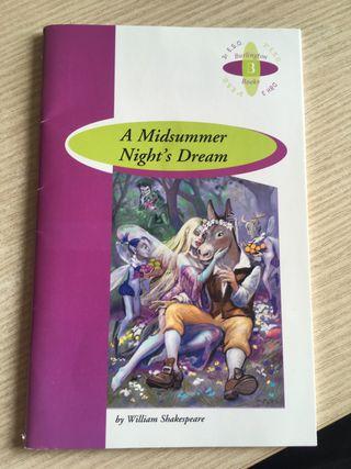 """Libro de inglés """"A Midsummer Nights Dream"""""""