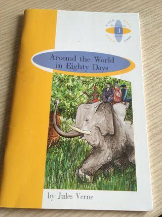 "Libro de inglés ""Around the World in Eighty Days"""