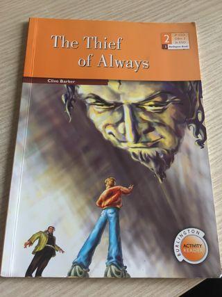 "Libro de inglés ""The Thief of Always"""