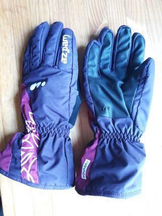 guantes nieve-esqui Wed'ze Decathlon