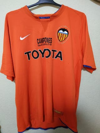 Segunda Mano Fútbol En De Retro Wallapop Valencia Camisetas DE2IH9
