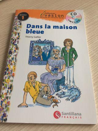 """Libro de francés """"Dans la maisonette bluer"""""""