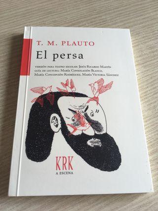 """Libro de teatro """"El Persa"""""""
