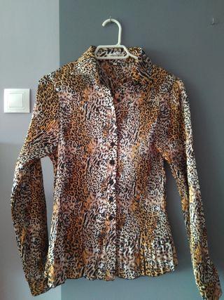 Camisa Animal Print T-L NUEVA