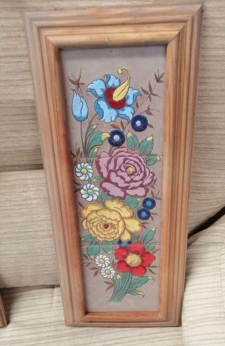 azulejos pintados a mano técnica cuerda seca
