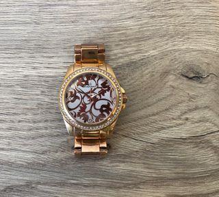 Reloj Dorado rosé Radiant