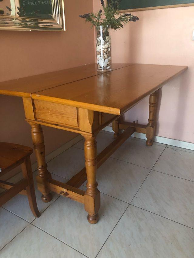 Mesa comedor abatible de segunda mano por 180 € en Las Rozas ...