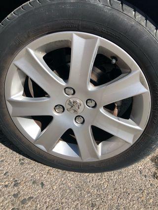 4 llantas de aluminio Peugeot 207 16 pulgada