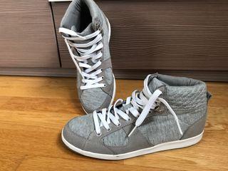 Zapatillas grises nuevas de mujer talla 38
