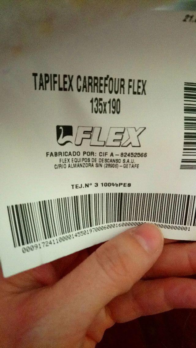 Cama Flex Oportunidad!