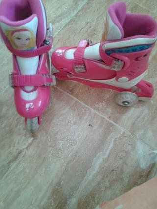 patines de Barbie