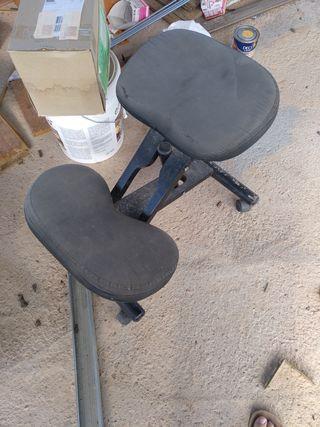 silla ergonómica de estudio