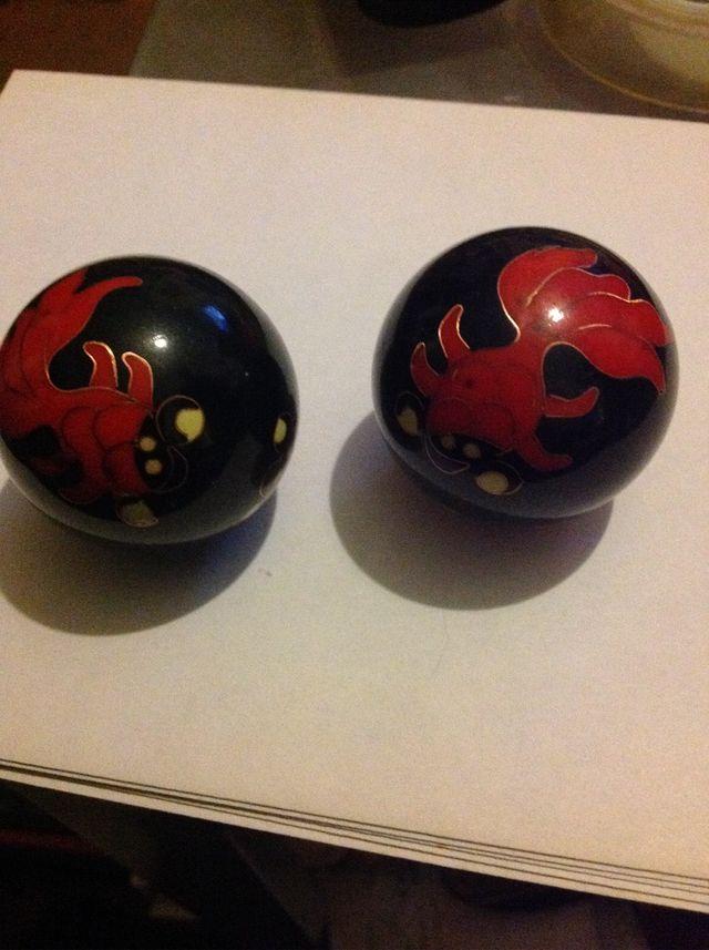 Meditation/relaxation balls