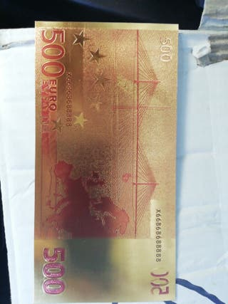 500 euros en oro
